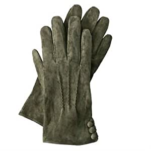 Amazon.com : Women Winter Suede Gloves - Olive Green Size
