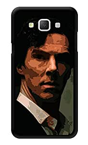 """Humor Gang Serious Sherlock Printed Designer Mobile Back Cover For """"Samsung Galaxy A5"""" (3D, Glossy, Premium Quality Snap On Case)"""