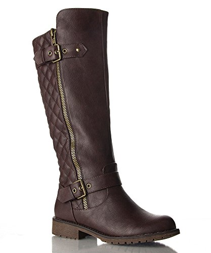 rof-vivienne-01a-motorcycle-boots-brown-pu-size-11-
