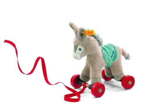 Steiff Pull-Along Animal Issy Donkey front-856816