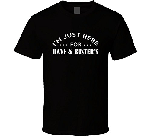 im-just-here-for-dave-busters-funny-food-fanatic-t-shirt-m-black