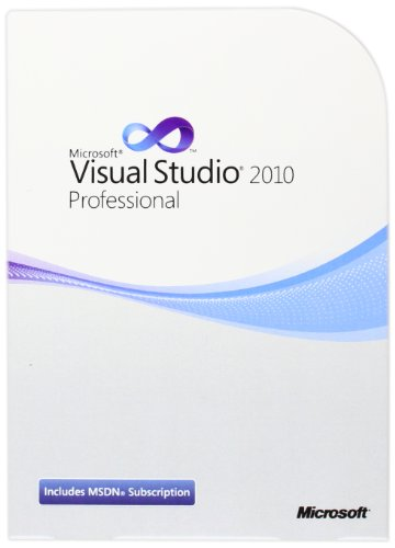 Microsoft Visual Studio Pro with MSDN Retail 2010 - 1 User (PC)