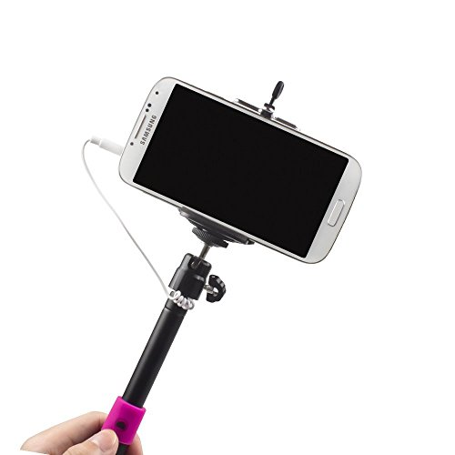 selfie stick quicksnap pro 3 in 1 self portrait monopod extendable wireless bluetooth selfie. Black Bedroom Furniture Sets. Home Design Ideas