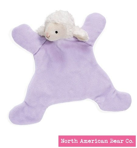 North American Bear Co. Loppy Lamb Baby Cozy by (6200) - 1