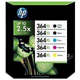 5 x Original Druckerpatronen HP 364XL