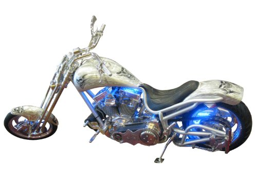 Wci Quality Motorcycle Flexible Million Color Light Kit With Wireless Control From Apple Iphone - 10 Strips Of Led Bulbs, Multiple Changing Colors - Light Up Your Ride!