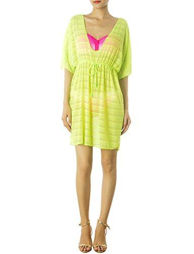 ib-ip-womens-straps-bikini-swimsuit-mid-thigh-tunic-cover-up-size-l-light-moss