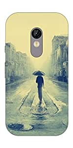 Go Hooked Moto G Turbo Printed Soft Silicone Mobile Back Cover