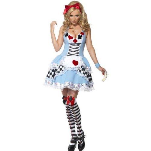あんたも今日からアリス!!ディズニー風 不思議の国のアリス コスプレ衣装