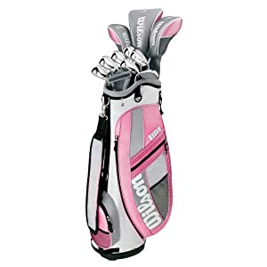 Wilson Golf Hope Platinum Ladies Complete Golf Set