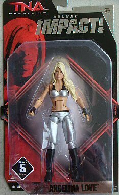 TNA Wrestling Deluxe Impact Series 5 Action Figure Angelina Love - 1