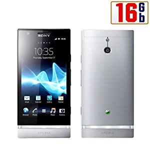 Sony Xperia P LT22i-SL Unlocked Phone with 8 MP Camera, Android 2.3 OS, Dual-Core Processor, and 4-Inch Touchscreen--U.S.Warranty (Silver)