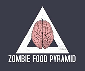 Zombie Food Pyramid T-Shirt (Unisex)