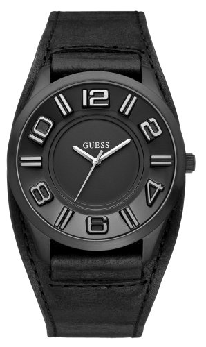 Guess Men's Fashion Analogue Watch W14542G1 with Black Strap