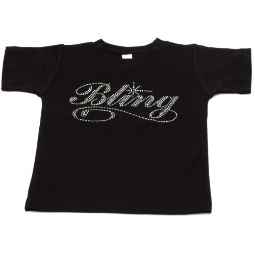Lollipop Moon Rhinestone Bling Kids T-Shirt front-1001914