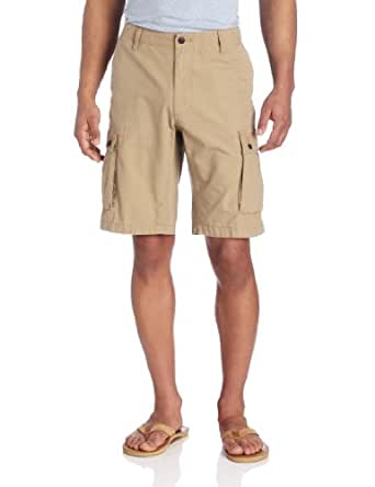 Dockers Men's Journeyman Cargo Short, Montgomery Khaki, 29W