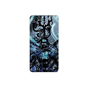 sony z3 mini nkt11_R (42) Mobile Case by Mott2 - Lord Shiva - Magical Paint