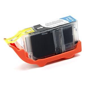 eForCity Compatible Pigment Black Ink Cartridge for Canon PGI-5BK