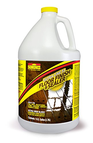 ULTRA HIGH GLOSS 33% Solids Floor Finish Wax - 1 Gallon (More Durable, Less Coats, Less Labor) (Floor Wax compare prices)