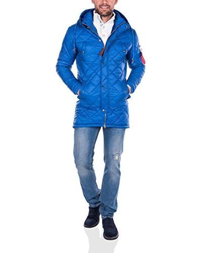 Giorgio Di Mare Mantel blau