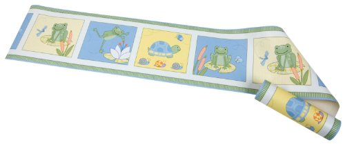 Kids Line Leap Froggie Wall Border front-1007044