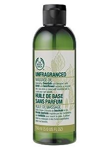 The Body Shop Unfragranced Massage Oil, 5-Fluid Ounce
