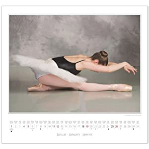 Ballett 2014: Original Stürtz-Kalender - Mittelformat-Kalender 33 x 31 cm [Spiralbindung]