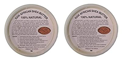 African Shea Butter Cream Selection (100% Pure & Raw, Gold, Ivory) !!!