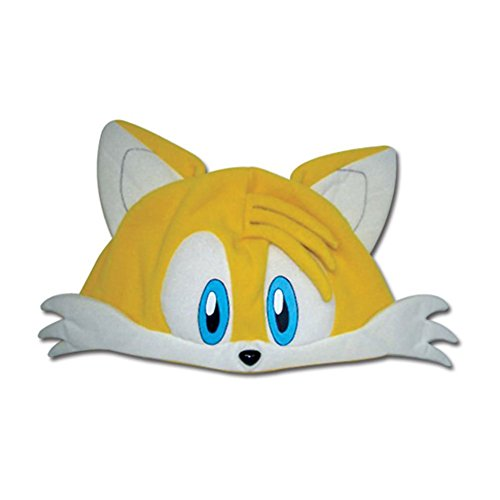 [Tails Fleece Cap] (Sonic The Hedgehog Tails Costumes)