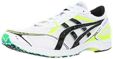Asics Tarther Zeal Wide Running Shoes - Men's-White Lime-M: US8