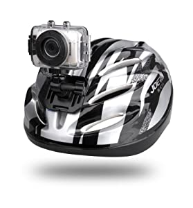 Gear-pro High-definition Sport Action Camera 720p Wide-angle Camcorder With 2.0 Touch Screen Sd Card Slot Usb Plug And Mic All Mounting Gear Included For Biking Riding Racing SkIIng And Water Sports Etc.