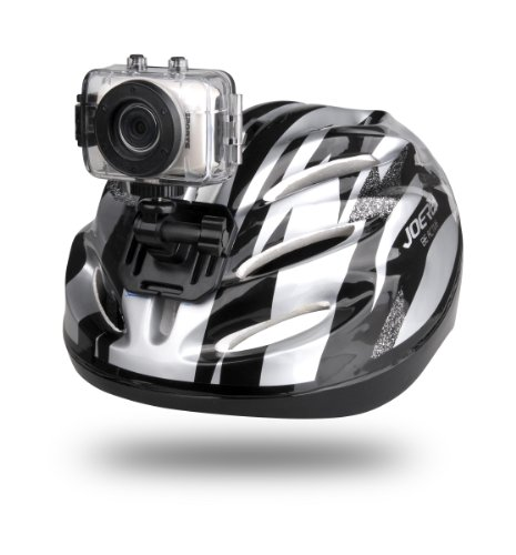 Gear-Pro High-Definition Sport Action Camera, 1080p 720p Wide-Angle Camcorder With 2.0 Touch Screen – SD Card Slot, USB Plug And Mic – All Mounting Gear Included – For Biking, Riding, Racing, Skiing And Water Sports, Etc.
