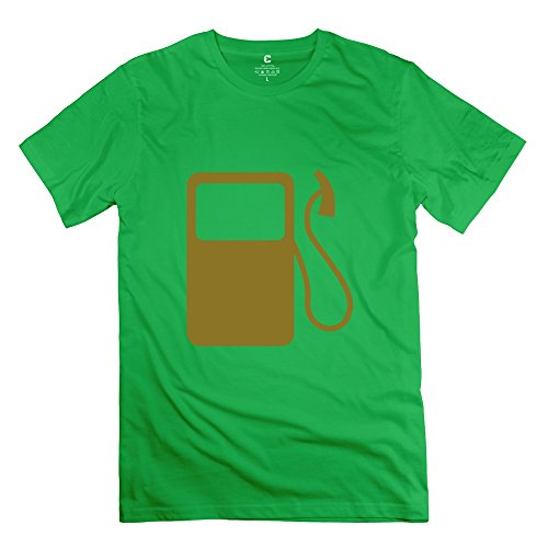 Zya6W Men'S Gas Cotton Hot Topic T Shirt Forestgreen