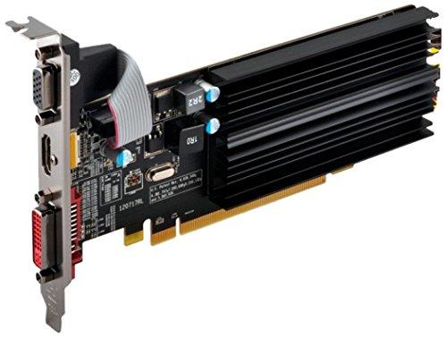 XFX HD-545X-ZCH2 Grafikkarte (ATI Radeon HD 5450, 1GB,...