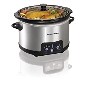Hamilton Beach 4.5-Quart Programmable Oval Slow Cooker