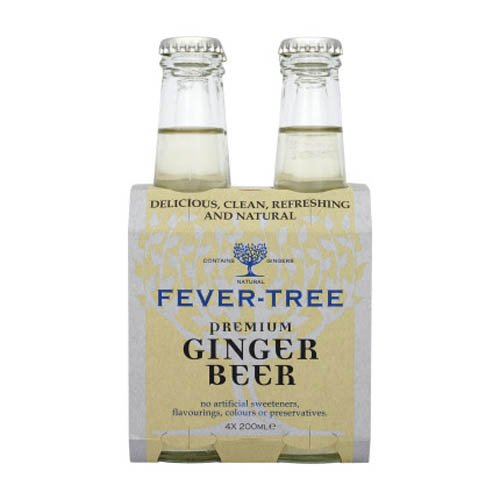 Sur La Table Fever-Tree Ginger Beer, 4 Pack
