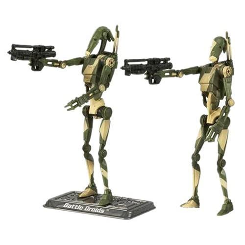 Star Wars – The Saga Collection – Basic Figure Battle Droid – 2 Pack by Hasbro (English Manual) jetzt kaufen