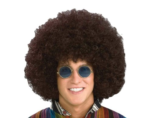 Forum Novelties Men's Jumbo Afro Hippie Costume Wig