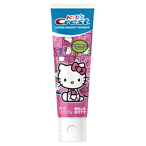 Kid's Hello Kitty Bubblegum Flavor Toothpaste 4.2 Oz