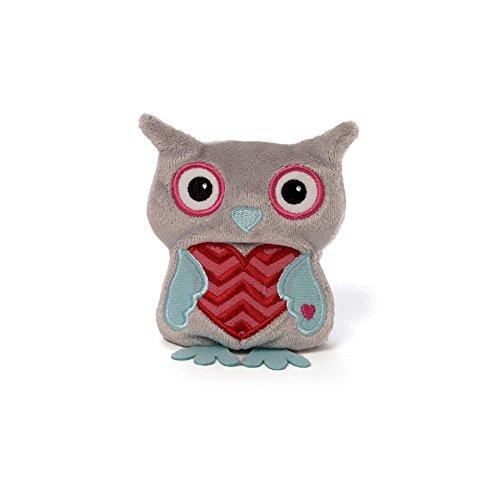 Gund Tweetheart Owl Beanbag Grey