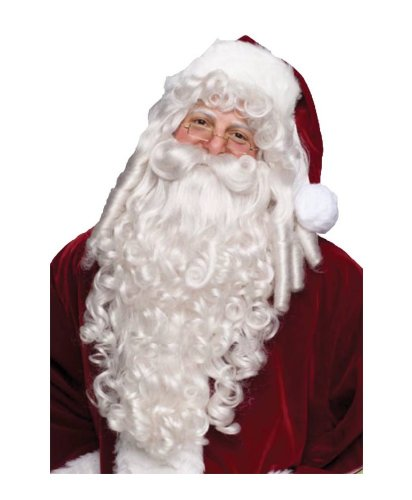 Santa Adult Wig and Beard deluxe