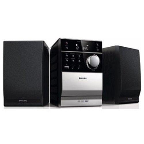 Philips-MCM112012-Klassisches-Kompaktanlage-CD-MP3-CD-USB-UKW-Kassette-10-W