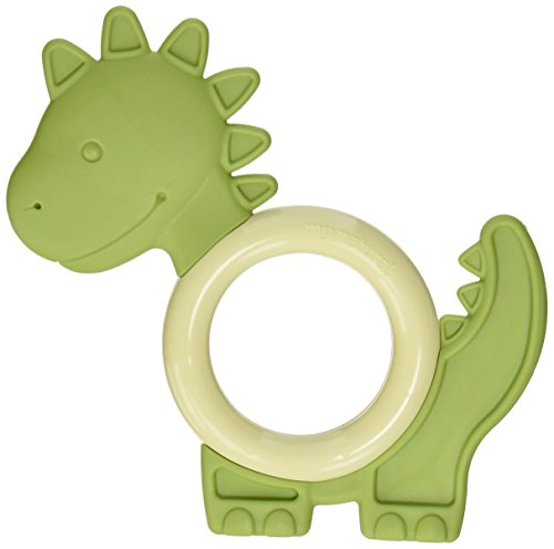 My Natural Soft Comfort Teether, Dino