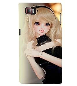 Printvisa Baby Doll Dressed Up In Black Back Case Cover for Lenovo Vibe Z2 Pro K920