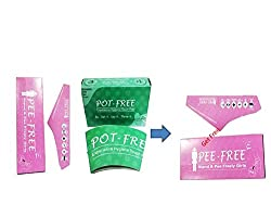 Buy Hitech Packers Pee Free (10 in 1) Pack of 2 + Hitech Packers Pot Free (10 in 1) Pack of 2 & Get Pee free 5 in 1 Pack of 1 free