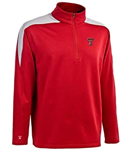 Texas Tech Succeed 1 4 Zip Performance Pullover by Antigua