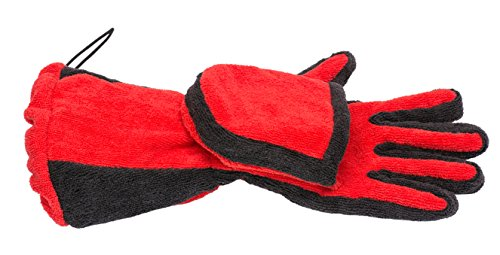 Microfiber Towel for Pets Quick Drying Absorbing Bath Glove PUPTECK (Micro Mouse Cat compare prices)