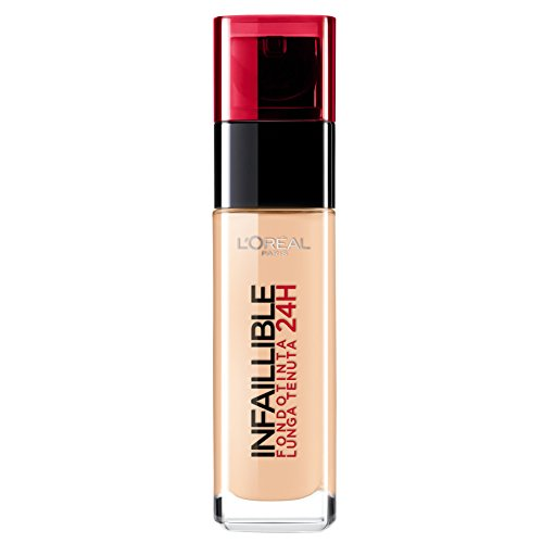 L'Oréal Make Up Designer Paris Infaillible 24H Fondotinta Liquido Lunga Tenuta, 200 Sable Doré