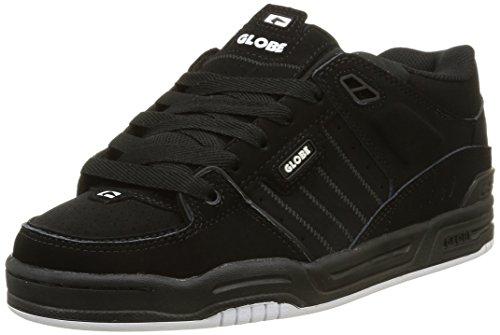 GlobeFusion - Sneaker Uomo , Nero (Nero (nero/bianco/nero)), 44