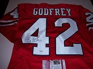 Randall Godfrey Autographed Jersey - Georgia Bulldogs cowboys Jsa coa by Sports+Memorabilia